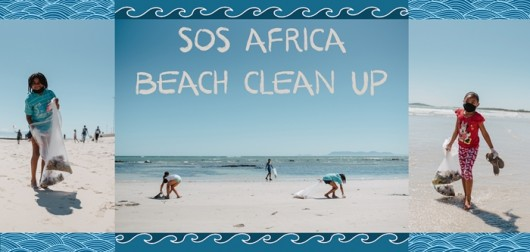 SOS Africa Beach Clean Up Day